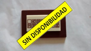 1.  Tarjeta de chocolate con Lámina Rectangular